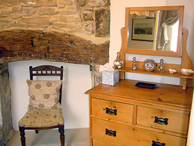 Bedside at Kemble Holiday Cottage near Bath