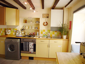 The Kitchen at   Kemble Holiday Cottage