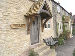 Front Door of Kissing Gate Cottage Bath